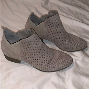 Shoes - Stone color Designed Booties